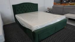 22106.07 Miegamojo lova su patalynės dėžėmis 595 eur.