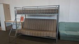 12107.20 Dviaukštė lova iš Vokietijos 355 eur.