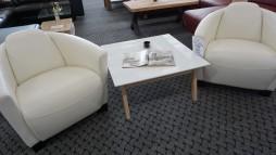 22008.32 Lux eko odos foteliukai iš Vokietijos. 2 vnt. 390 eur.