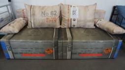 22008.23 Sofa - lova iš Vokietijos 325 eur.