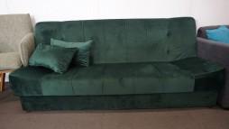 22107.14 Sofa - lova su gobelenu iš Vokietijos. 285 eur.
